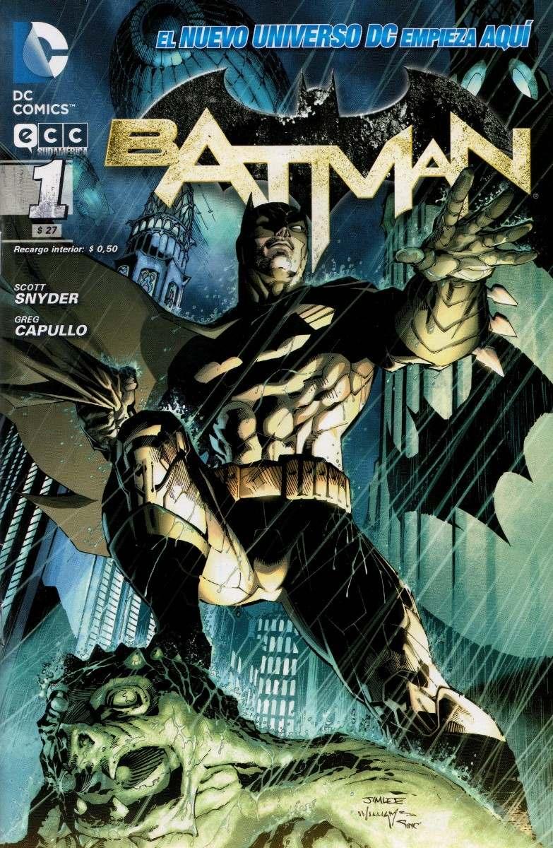 [ECC Sudamerica] DC Comics 0113