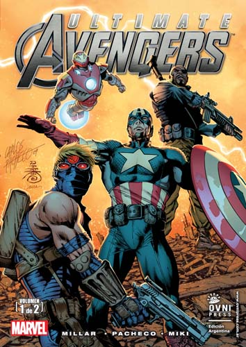 [OVNI Press] Marvel Comics y otras Avenge11