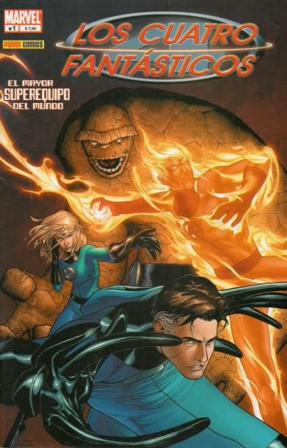 [CONOSUR / PANINI Argentina] Marvel Comics Ff110