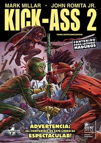 [OVNI Press] Marvel Comics y otras Kick-a11