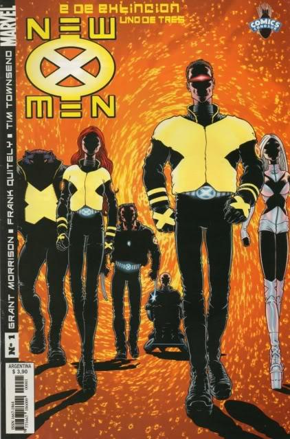 [CONOSUR / PANINI Argentina] Marvel Comics New0110