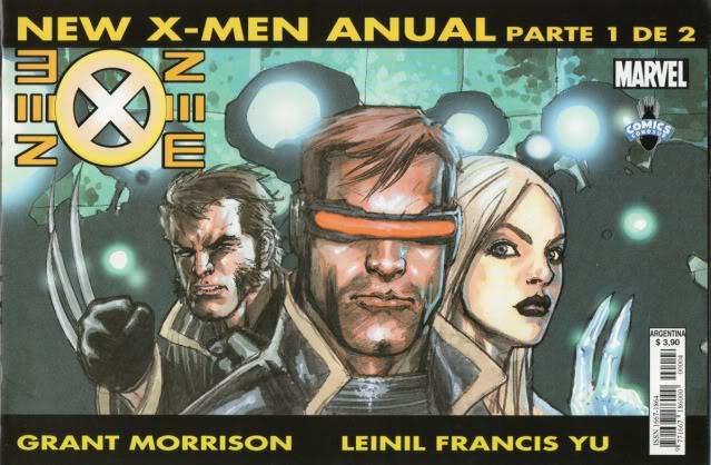 [CONOSUR / PANINI Argentina] Marvel Comics New0410