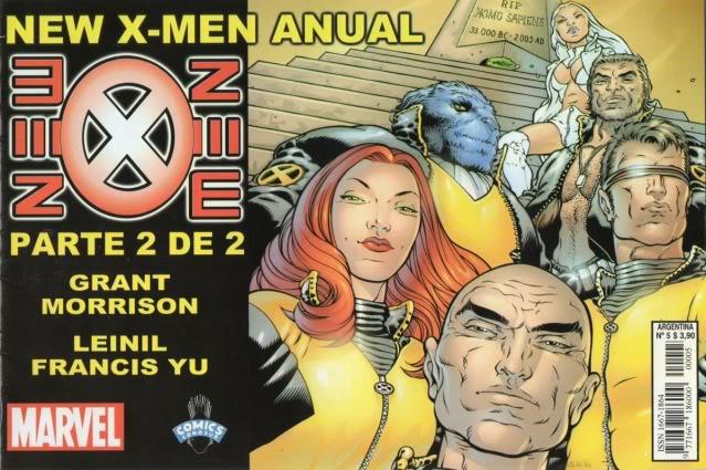 [CONOSUR / PANINI Argentina] Marvel Comics New0510