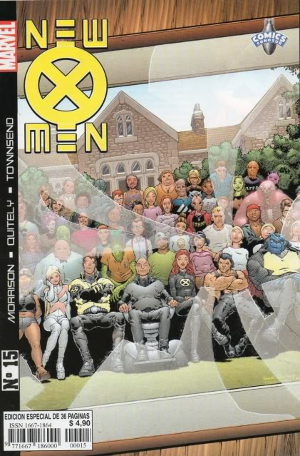 [CONOSUR / PANINI Argentina] Marvel Comics New1510