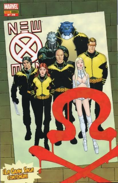 [CONOSUR / PANINI Argentina] Marvel Comics New2010