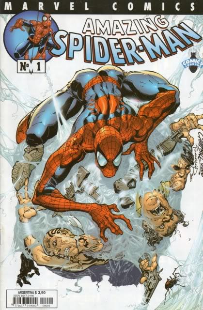 [CONOSUR / PANINI Argentina] Marvel Comics Spider25