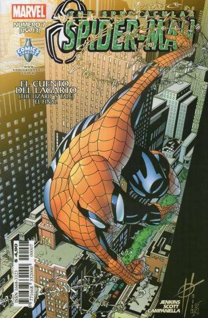 [CONOSUR / PANINI Argentina] Marvel Comics Spider57