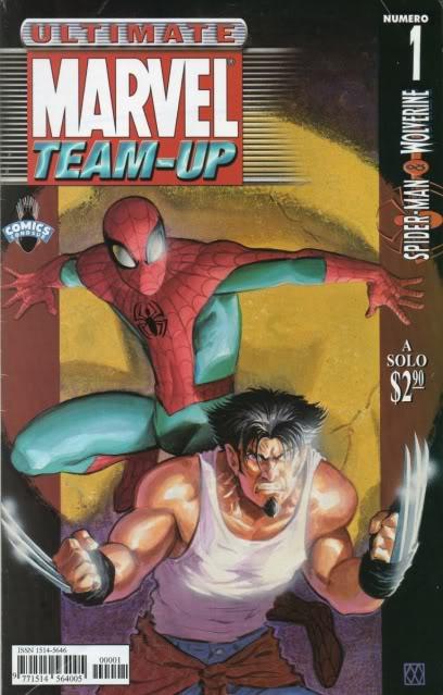 [CONOSUR / PANINI Argentina] Marvel Comics Teamup10