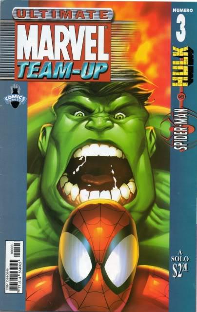 [CONOSUR / PANINI Argentina] Marvel Comics Teamup11