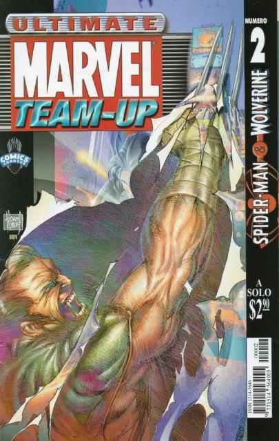 [CONOSUR / PANINI Argentina] Marvel Comics Teamup13