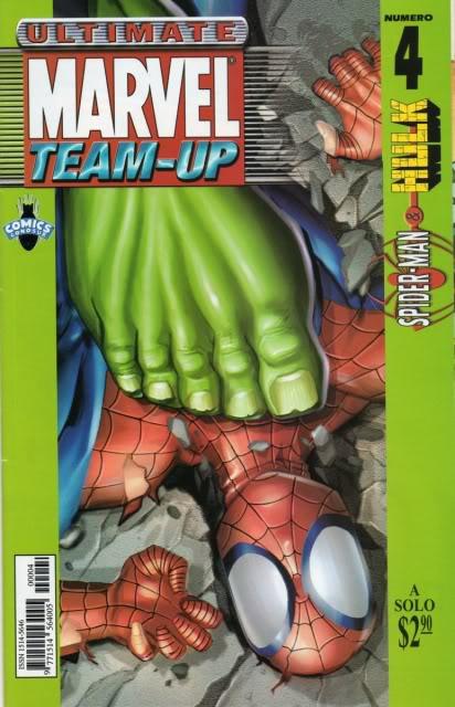 [CONOSUR / PANINI Argentina] Marvel Comics Teamup14