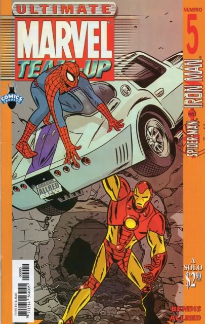 [CONOSUR / PANINI Argentina] Marvel Comics Teamup15