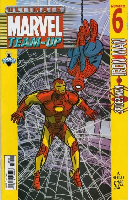 [CONOSUR / PANINI Argentina] Marvel Comics Teamup16