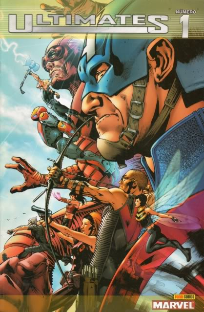 [CONOSUR / PANINI Argentina] Marvel Comics Ultima21