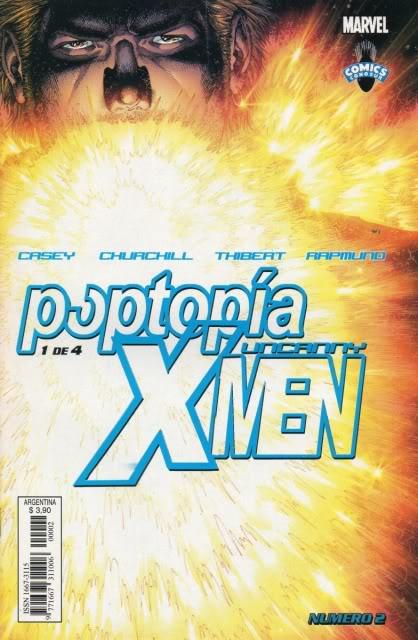 [CONOSUR / PANINI Argentina] Marvel Comics Uncann12