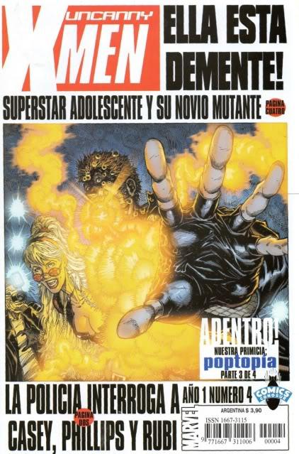 [CONOSUR / PANINI Argentina] Marvel Comics Uncann13