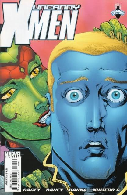 [CONOSUR / PANINI Argentina] Marvel Comics Uncann14