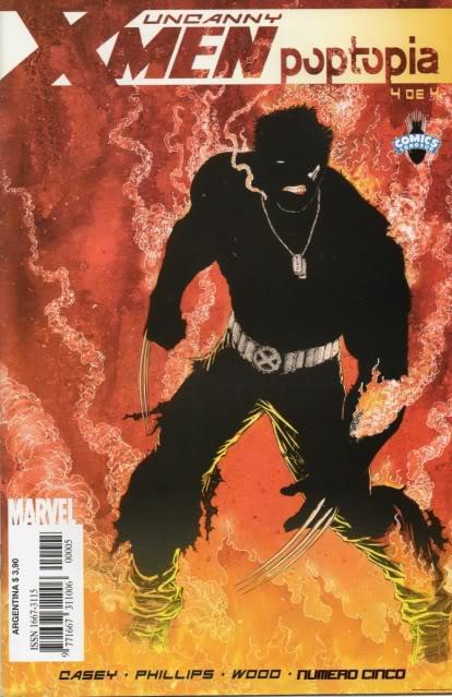 [CONOSUR / PANINI Argentina] Marvel Comics Uncann15
