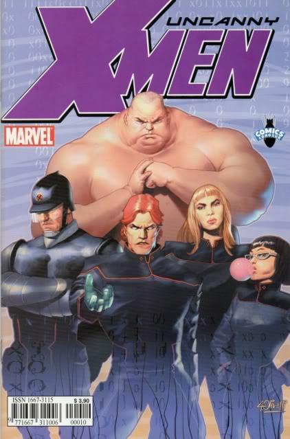 [CONOSUR / PANINI Argentina] Marvel Comics Uncann16