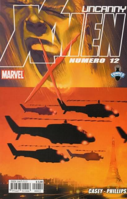 [CONOSUR / PANINI Argentina] Marvel Comics Uncann19