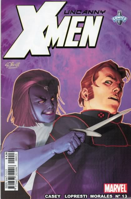 [CONOSUR / PANINI Argentina] Marvel Comics Uncann20