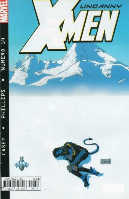 [CONOSUR / PANINI Argentina] Marvel Comics Uncann21