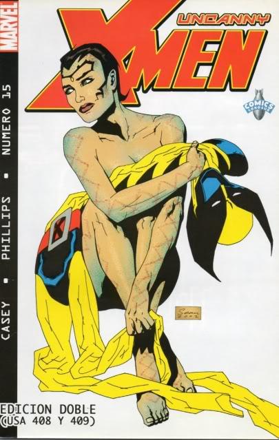 [CONOSUR / PANINI Argentina] Marvel Comics Uncann22