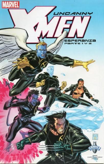[CONOSUR / PANINI Argentina] Marvel Comics Uncann23