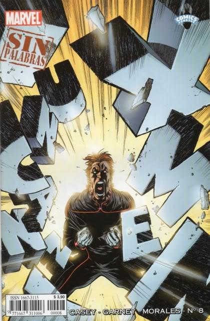 [CONOSUR / PANINI Argentina] Marvel Comics Uncann24