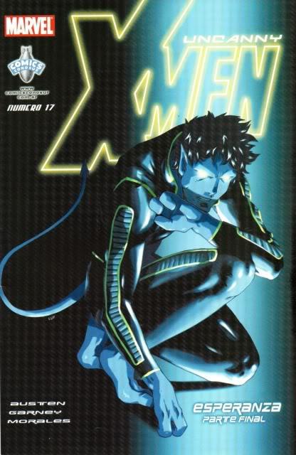 [CONOSUR / PANINI Argentina] Marvel Comics Uncann25