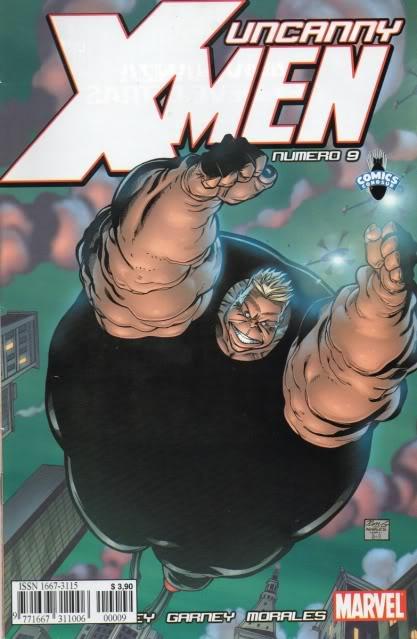 [CONOSUR / PANINI Argentina] Marvel Comics Uncann26