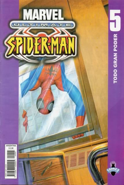 [CONOSUR / PANINI Argentina] Marvel Comics Usm0510