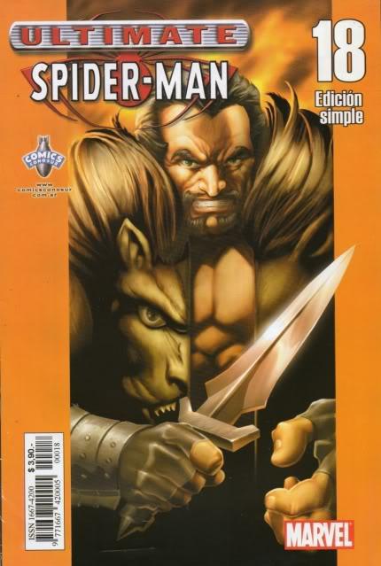 [CONOSUR / PANINI Argentina] Marvel Comics Usm1810