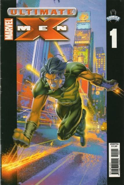 [CONOSUR / PANINI Argentina] Marvel Comics Uxm0110