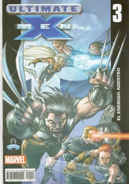 [CONOSUR / PANINI Argentina] Marvel Comics Uxm0310
