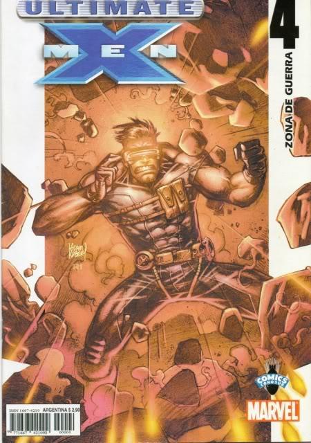 [CONOSUR / PANINI Argentina] Marvel Comics Uxm0410