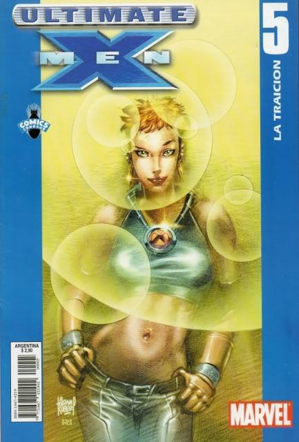 [CONOSUR / PANINI Argentina] Marvel Comics Uxm0510