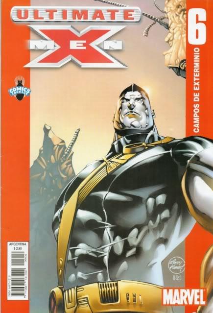 [CONOSUR / PANINI Argentina] Marvel Comics Uxm0610