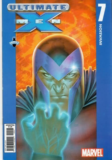 [CONOSUR / PANINI Argentina] Marvel Comics Uxm0710