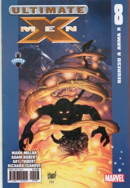 [CONOSUR / PANINI Argentina] Marvel Comics Uxm0810