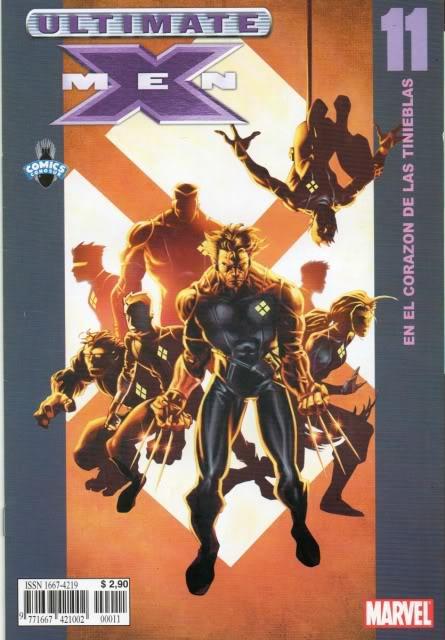 [CONOSUR / PANINI Argentina] Marvel Comics Uxm1110