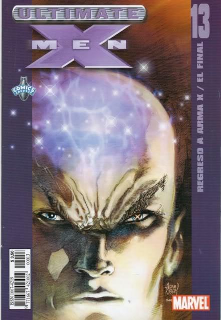 [CONOSUR / PANINI Argentina] Marvel Comics Uxm1310