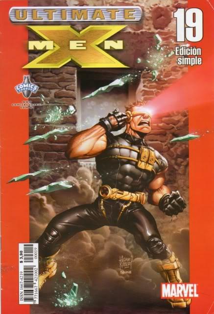 [CONOSUR / PANINI Argentina] Marvel Comics Uxm1910