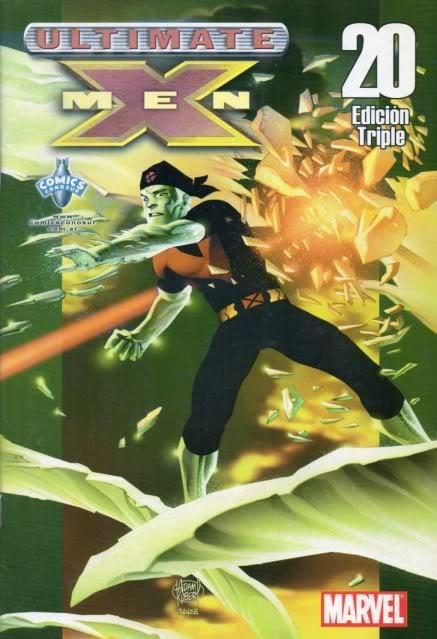 [CONOSUR / PANINI Argentina] Marvel Comics Uxm2010