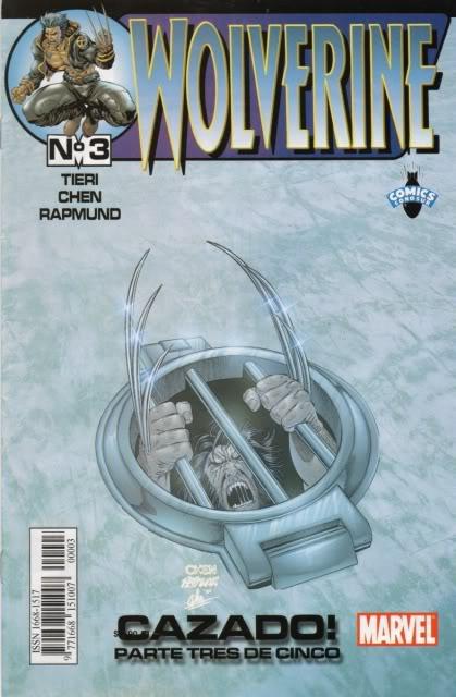[CONOSUR / PANINI Argentina] Marvel Comics Wolver11