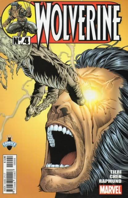 [CONOSUR / PANINI Argentina] Marvel Comics Wolver12