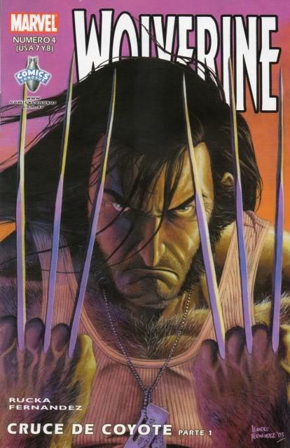 [CONOSUR / PANINI Argentina] Marvel Comics Wolver15
