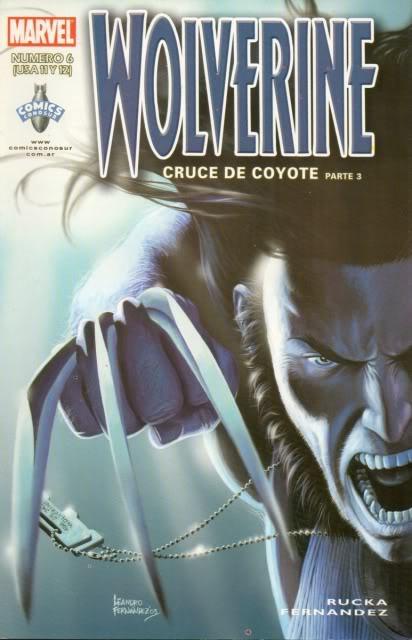 [CONOSUR / PANINI Argentina] Marvel Comics Wolver19