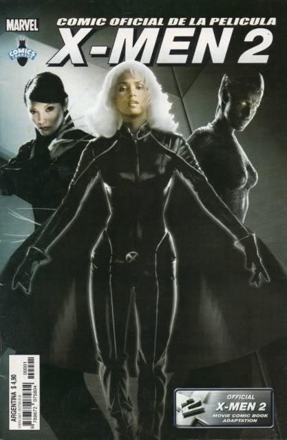 [CONOSUR / PANINI Argentina] Marvel Comics X-men210