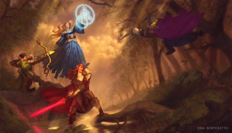 Ilustrações Fantasy Powerp10